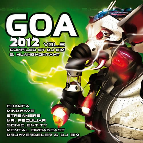 Compilation: Goa 2012 - Volume 3 (2CD)